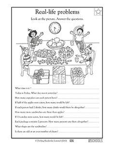 1st grade, 2nd grade Math Worksheets: Addition fact