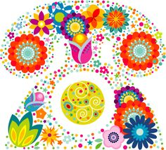 free vector Lovely flower pattern Vector graphic available for free download at 4vector.com. Check out our collection of more than 180k free vector graphics for your designs. #design #freebies #vector #floral #pattern #cute #printable #graphicdesign