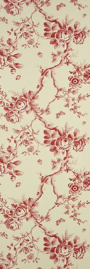 Designers Guild - Fabrics & Wallpaper Collections, Collection     Signature Papers Part Number     PRL027/02 name     ashfield floral - vermilion by Ralph Lauren Composition     PAPER wallcovering Width     68.5 cm Weight     140 g/m2 Horizontal Pattern Repeat     0 cm Vertical Pattern Repeat     64 cm