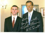 US Senator John Thune (R-SD) and I in Senator Thune's Washington DC Office #WashingtonDC #SenatorThune #Republican #SouthDakota #Politics