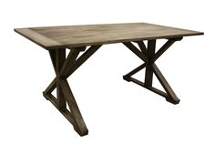 HC-Dining table cross Vintage grey 170*95*78 (Java mix wood)