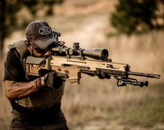 Decked out for precision work, the new SCAR nearly mirrors is military counterpart the SSR. Find out more about this new rifle from FN America.