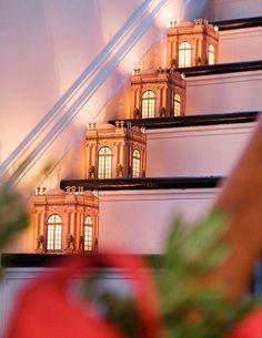parisian-christmas-lantern-for-staircase-design