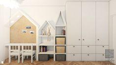 Pokój dziecka styl Skandynawski - zdjęcie od Pracownia InSide - Pokój dziecka - Styl Skandynawski - Pracownia InSide