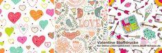 Pattern Designs nicht nur zu Valentin I www.Stoff-Schmie.de