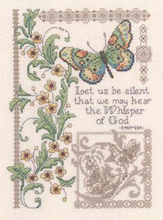 Whisper Of God - Cross Stitch Pattern