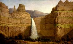 Peluce Fall. La spettacolare cascata inferiore del Palouse River.