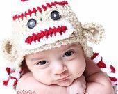 Baby Monkey Hat!! Cuteness!!!