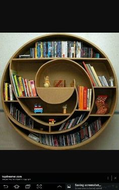 Awesome bookcase.