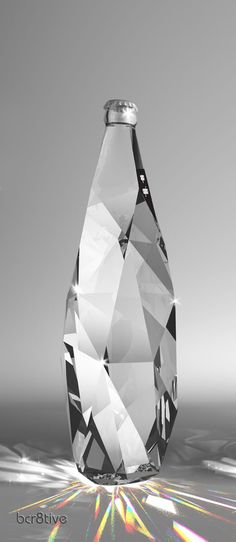 Package Design | Diamond, Aqua Carpatica by Cristiano Giuggioli
