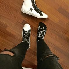 How do you see things? Black or white? Wearing #2star shoes you don't have to choose! www.2star.it  #collection #highsneaker #highsneakers#sneaker #sneakers #mood #sneakerhead #sneakerheads #shoe #shoes #fashion #style #cool
