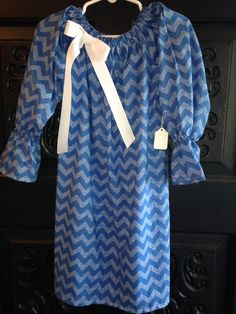 Peasant Dress with Monogram $30.00