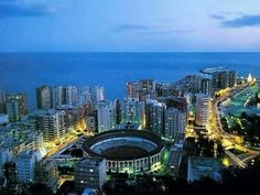Preciosa #Málaga ¿verdad? #Plazadetoros #lamalagueta :)