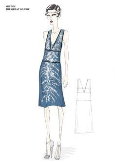 Miuccia Prada unveils Great Gatsby Costumes | Harper's BAZAAR