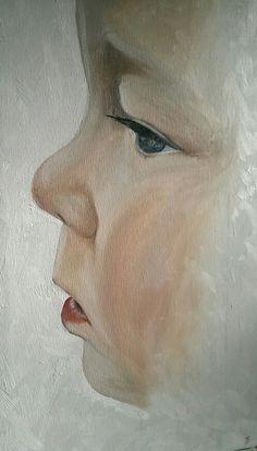 Alex oil on canvas 30x60cm