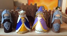 MEDIEVAL KING and QUEENPrince and PrincessPure by HeartFeltDolls