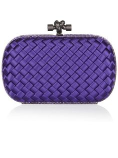 Harper's Bazaar Editor's Choice (Alexandra Parnass, Beauty Director): Bottega Veneta satin knot clutch.