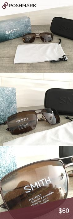 49c558ae497 Smith Optics Turner Polarized Sunglasses New in the box and with tags. Matte  Brown frame and ChromaPop Polarized Brown lenses.