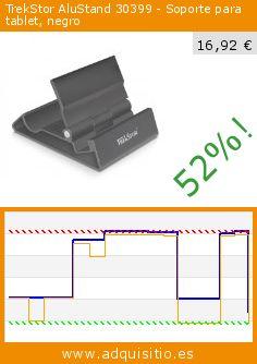 TrekStor AluStand 30399 - Soporte para tablet, negro (Accesorio). Baja 52%! Precio actual 16,92 €, el precio anterior fue de 35,44 €. http://www.adquisitio.es/trekstor/soporte-tablet-y