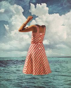 FLOAT Art Print by Beth Hoeckel Collage & Design | Society6