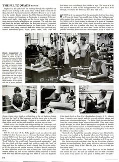 The Fultz Quads at work. Ebony Magazine's article on the Quads, November 1968.