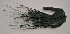 "Ron Isaacs, ""La Nuit,"" 2009; acrylic on birch plywood construction."