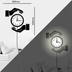 wandtattoo uhr mechanische uhr mit zahnrad pendel und r mischen zahlen deko f r zuhause. Black Bedroom Furniture Sets. Home Design Ideas