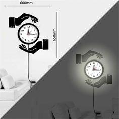 wandtattoo uhr mechanische uhr mit zahnrad pendel und r mischen zahlen deko f r zuhause. Black Bedroom Furniture Sets. Home Design Ideas
