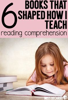 A list of 6 books that shaped how I teach reading comprehension in my primary classroom. In this post, Miss DeCarbo also shares her 6 tips for teaching comprehension in the classroom. Discover resource books that will help you improve small group reading Small Group Reading, Reading Help, Reading Lessons, Teaching Reading, Guided Reading, Learning, Improve Reading Comprehension, Comprehension Strategies, Reading Strategies