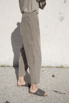 carpenter pants in cement | black crane.... - Total Street Style Looks And Fashion Outfit Ideas