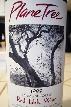 1999 Plane Tree Santa Ynez Valley Red Table Wine