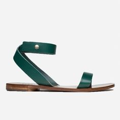 The Ankle-Wrap Sandal - Ivy - Everlane