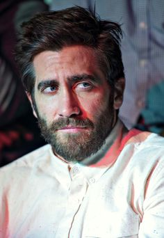 """just-jake-gyllenhaal:  """" Jake at Throne Boxing at The Theater at Madison Square Garden  """""""