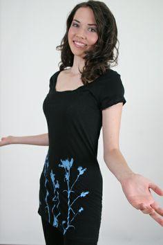 Distel-Kleid, schwarz, Größe: M von Spangeltangel auf DaWanda.com