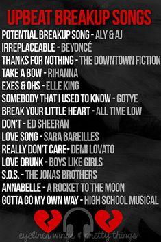The Best Upbeat Breakup Songs Playlist // eyeliner wings &…   Flickr