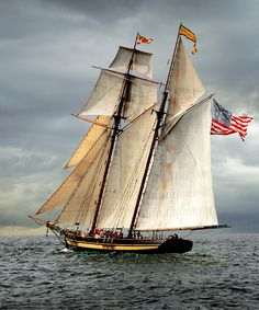 Pride Of Baltimore II Photograph - Pride Of Baltimore II Fine Art Print