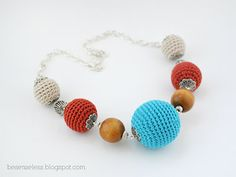 Where is the Wonderland? - airali handmade -: Crochet beads?