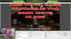 OBS game capture picture is is too dark issue and how to (possibly) fix in OBS English Language, Playroom, Games, Youtube, Pictures, Game Room, Gaming, English, Youtubers