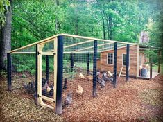 Thankful visited chicken coop designs See more - - Chicken Recipes Walk In Chicken Coop, Backyard Chicken Coop Plans, Chicken Barn, Easy Chicken Coop, Chicken Cages, Building A Chicken Coop, Chickens Backyard, Chicken Runs, Chicken Shed
