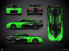 The approved Godzilla part wrap design project for Nissan GT-R Nismo