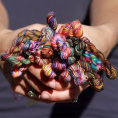 Love that they're offering this for the Beekeeper Quilt: Koigu Mini Skeinette Grab Bag - Rainbow (Ships Mid-Sept) from Jimmy Beans Wool in Reno.