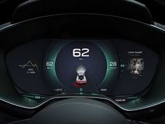 New Design in Car Dashboard No.1