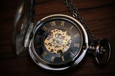 great pocket watch. I really love the ability to see the insides working of it. I will own a nice pocket watch one day.