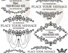 filigree wedding vector - Google Search