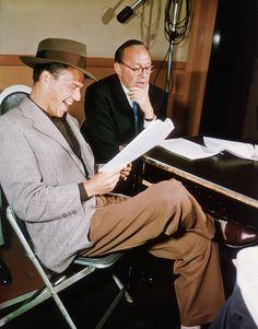 Frank Sinatra, Jack Benny