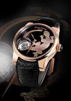 Pierre Thomas Tourbillon XXL Salamandre - Švajčiarske hodinky - HODINKOMANIA.SK