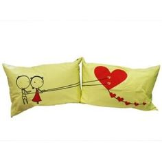 """Wedding gift:Couple Gifts Land: : """"Couple Fed Love"""" Couple Pillowcases-romantic Valentines Gifts for Couples, Cute Valentines Day Gift Ideas, Good Couple Gifts for Valentines, Romantic Anniversary Gifts (Wedding Gift for the Couple)"""