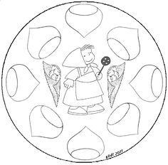 Mandala castañada