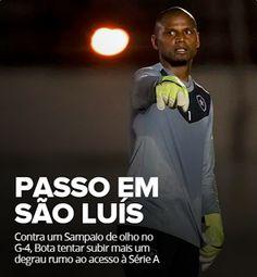 BotafogoDePrimeira: Duelo pelo acesso: Bota quer subir logo, Sampaio q...