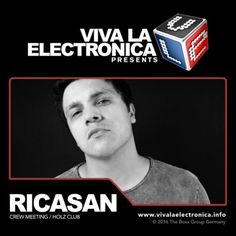 Viva la Electronica pres Ricasan